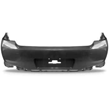 Parachoque Traseiro Peugeot 408 2015 a 2016 Sem Furo Sensor