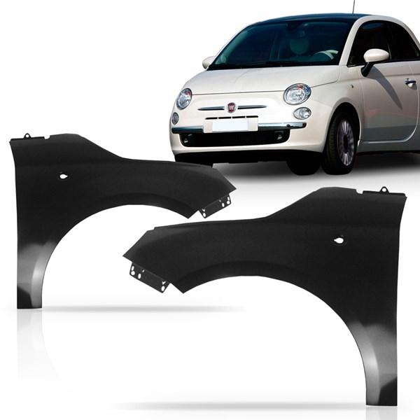 Paralama Dianteiro Fiat 500 2007 2008 2009 2010 2011 2012 2013
