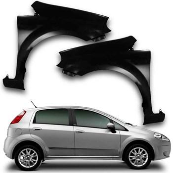 Paralama Fiat Punto 2007 A 2013 Sem Furo