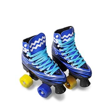 Patins 4 Rodas  Roller clássico Azul