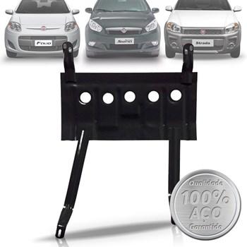 Peito De Aço Protetor Carter Novo Fiat Mobi