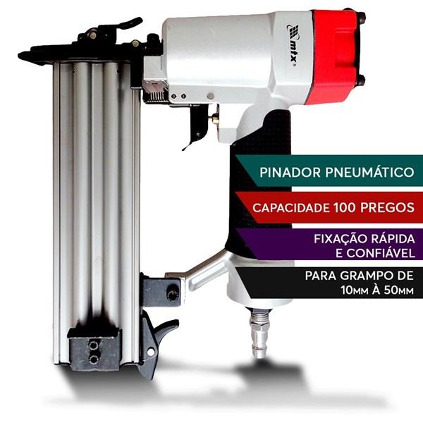Pinador Pneumatico Para Pinos De 10 A 50mm Mtx