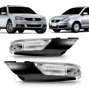 Pisca Retrovisor Golf Polo 2008 2009 2010 2011 2012