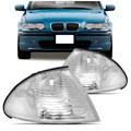 PISCA SETA LANTERNA DIANTEIRA BMW S3 1998 1999 2000 2001 CRISTAL