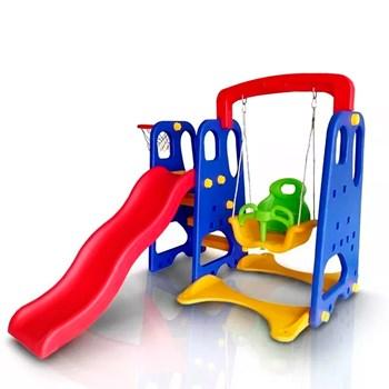 Playground Infantil Importway 3x1 Brinquedão Criança Pratico