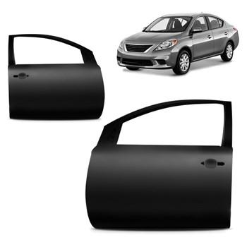 Porta Dianteira Nissan Versa 2011 2012 2013 2014 2015 2016 2017 2018 2019