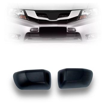 Protetor Para-choque Batente Preto (modelo Honda) - 2 Peças