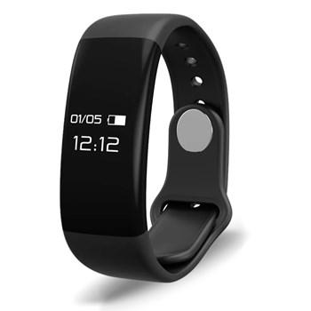 Pulseira Fitness C/ Monitor Cardíaco E Calorias Atrio - Es174