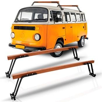 Rack De Teto Bagageiro Em Madeira Volkswagen Kombi 1957 A 2013