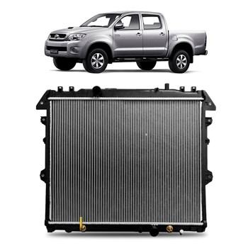 Radiador Hilux 2005 2006 2007 2008 2009 2010 2011 2012 2013 2014 Mecanico Diesel