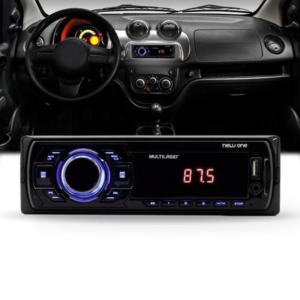 Radio Automotivo Mp3 New One Player Usb Sd Aux Fm