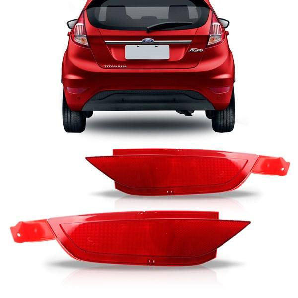 Refletor do Parachoque New Fiesta 2013 Até 2018 Hatch