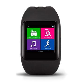 Relogio Inteligente Multilaser Celular Smartwatch Preto - P9024