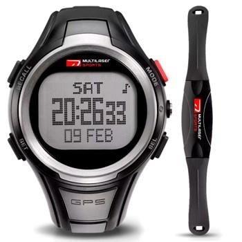 Relógio Multilaser Com Gps E Monitor Cardíaco Para Corrida