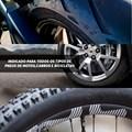 Reparador Instantâneo De Pneu Furado Moto Carro Bicicleta