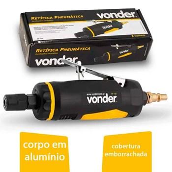 Produto Retificadeira Reta Pneumática 1/4 - Rp 140 Vonder