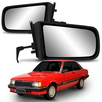 Retrovisor Chevette 1987 A 1993  Manual Com Espelho
