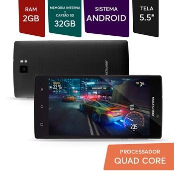 Smartphone 32gb Ram Android Tela Grande 5,5 + 03 Capa Colors