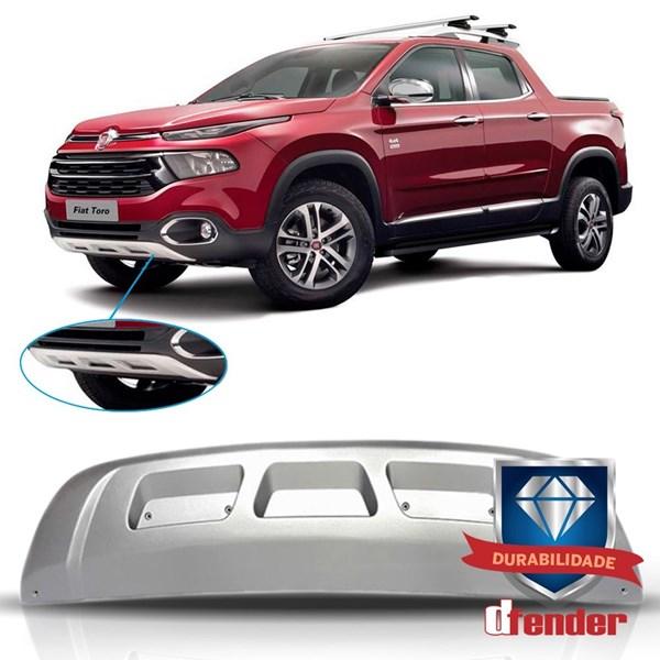 Spoiler Dianteiro Fiat Toro Prata