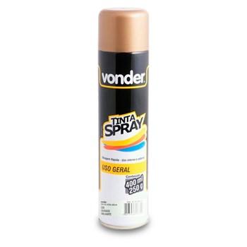 Spray Dourado Metalizado Alto Padrão Decoração 400ml Vonder