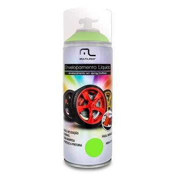 Spray Envelopamento Liquido Amarelo Fluorescente Au427