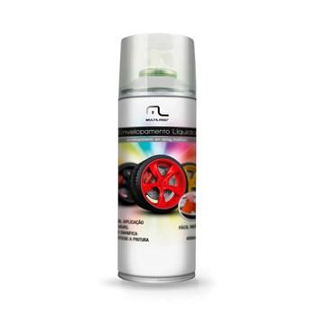 Spray Envelopamento Líquido Branco Fosco Multilaser