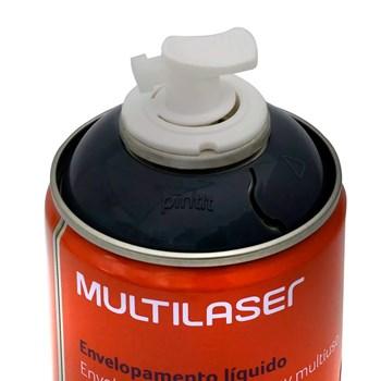Spray Envelopamento Líquido grafite Multilaser