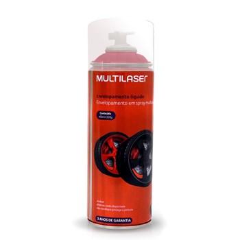 Spray Envelopamento Liquido Vermelho Fluorescente Au424