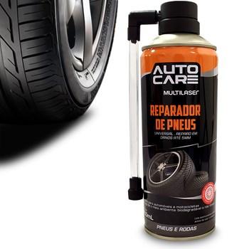 Spray Tapa Furo de Pneus Reparador Carro e Moto Multilaser