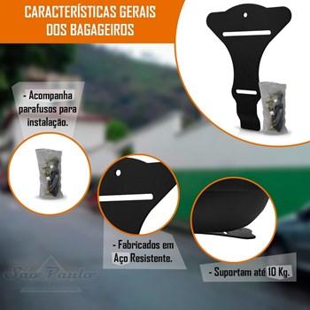 Suporte Bagageiro Bau Bauleto Honda Sh 150/300 2016 A 2018