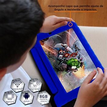 Tablet Disney Vingadores Multilaser Azul Nb280