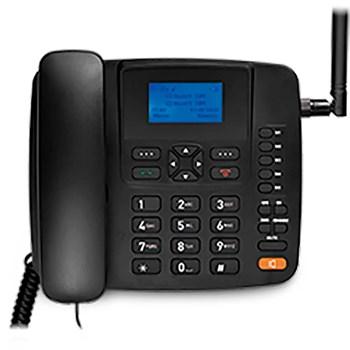 Telefone Celular Fixo De Mesa Rural 3g 5 Bandas Antena Re504