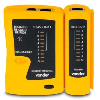 Testador Cabos De Rede Rj11 Rj12 Rj45 Vonder
