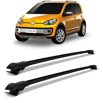Travessa Volkswagen Up Cross Rack Teto Slim Preto Preto