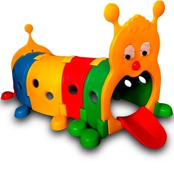 Túnel Centopéia Infantil Importway Em Plástico Desmontável