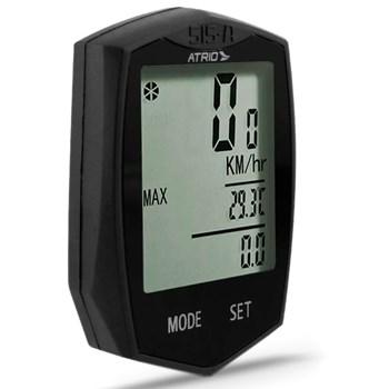 Velocimetro Bike Ciclismo + Mochila Hidratação 2 Lts Preta