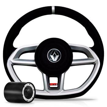 Volante Esportivo Renault Vision Linha Clio Logan Sandero
