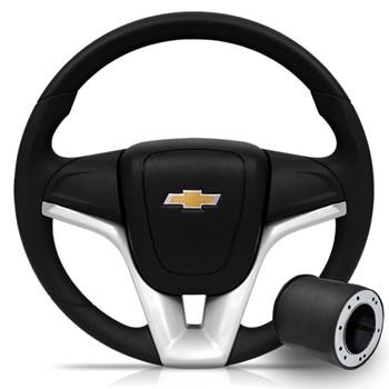 Volante Gm Modelo Cruze Onix Corsa Até 01 Omega Celta Astra Com Cubo