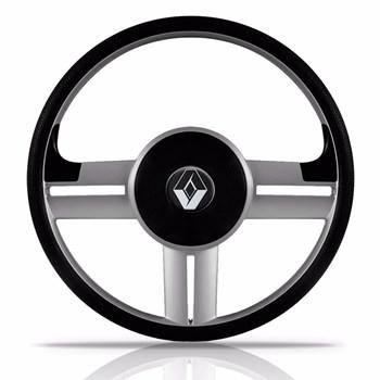 Volante Rallye Slim Prata Renault